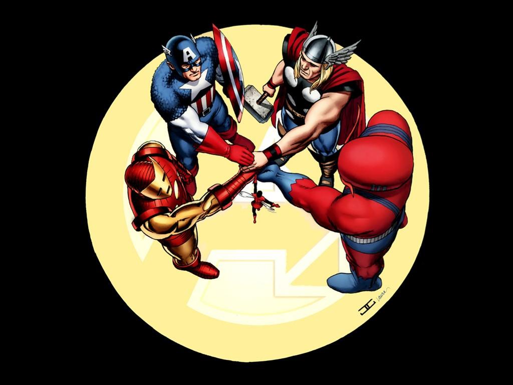 Comics Wallpaper: Original Avengers