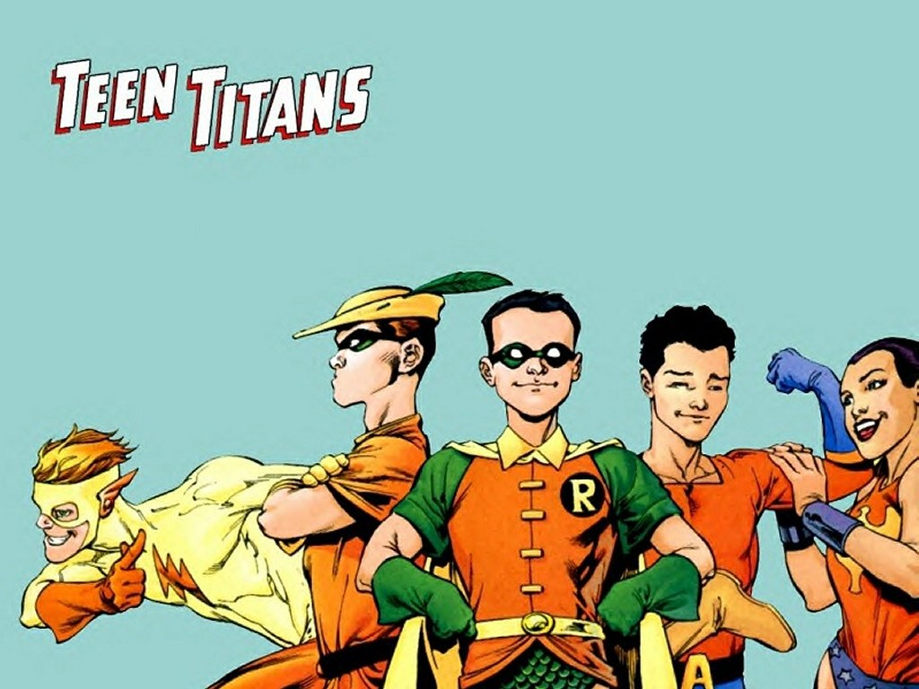 Comics Wallpaper: Original Teen Titans