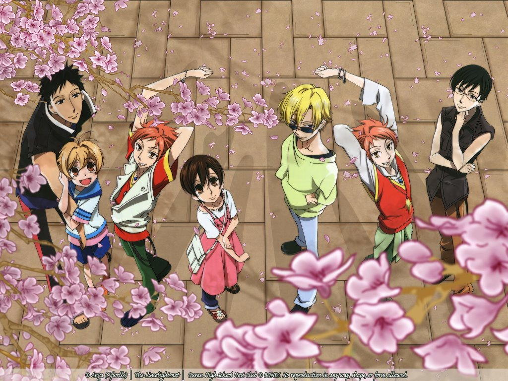 Comics Wallpaper: Ouran High School Host Club