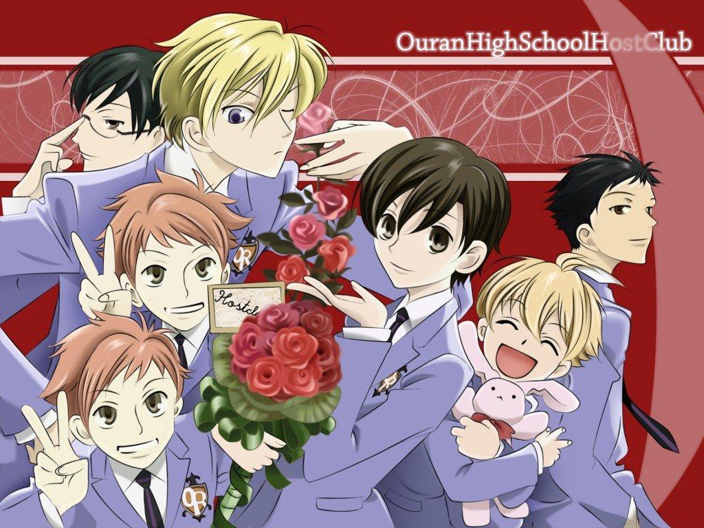 Comics Wallpaper: Ouran High School Host Club