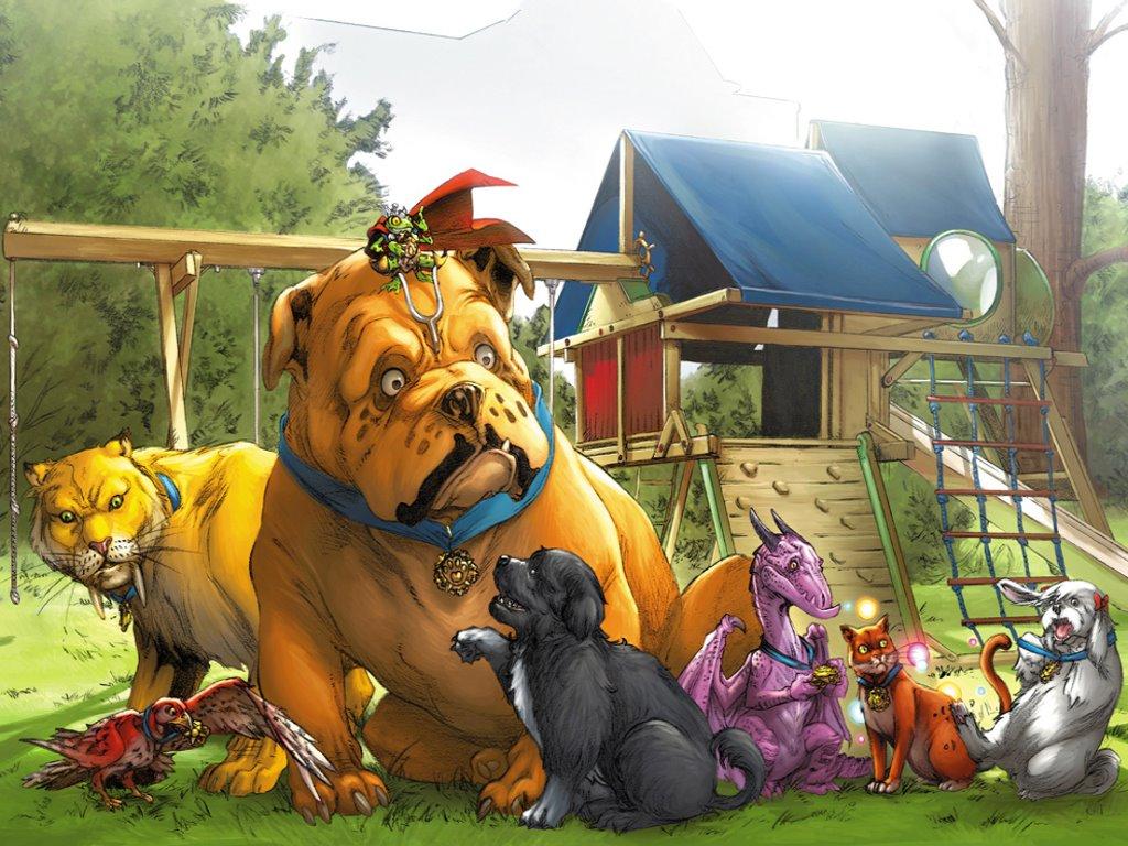Comics Wallpaper: Pet Avengers
