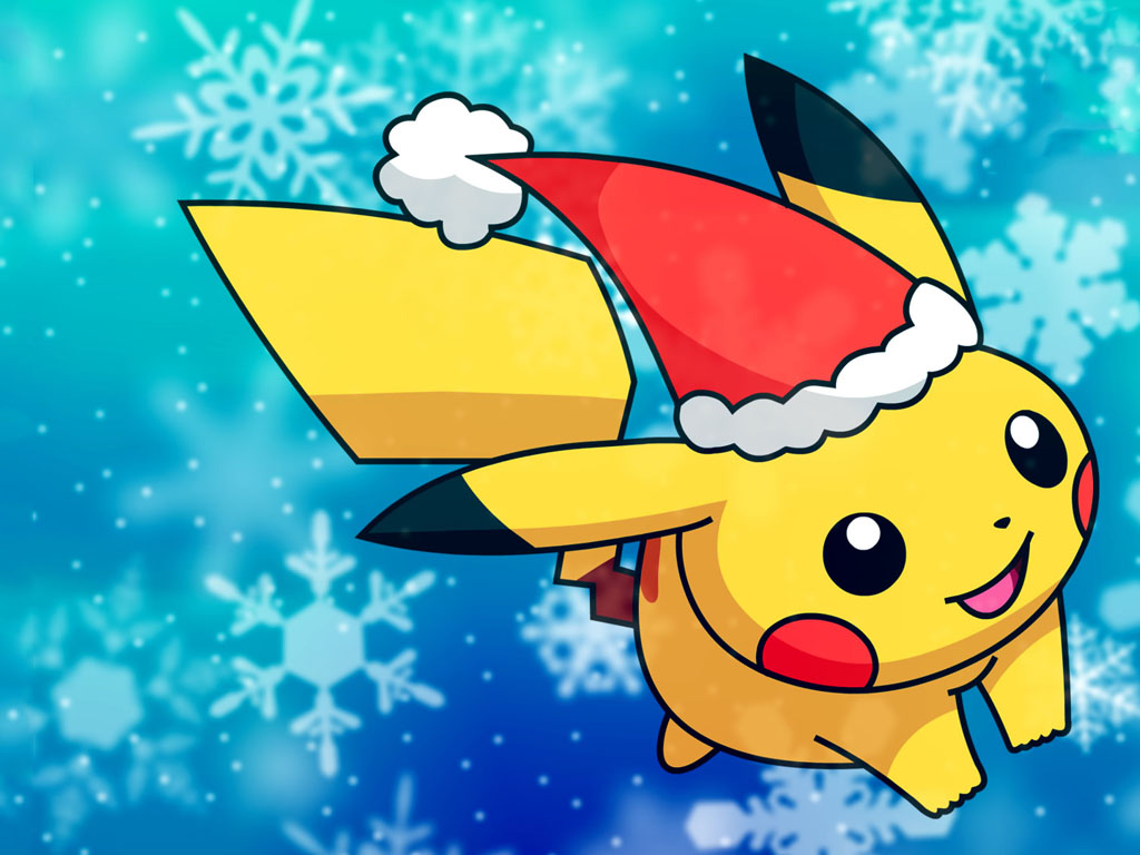 Comics Wallpaper: Pikachu - Christmas
