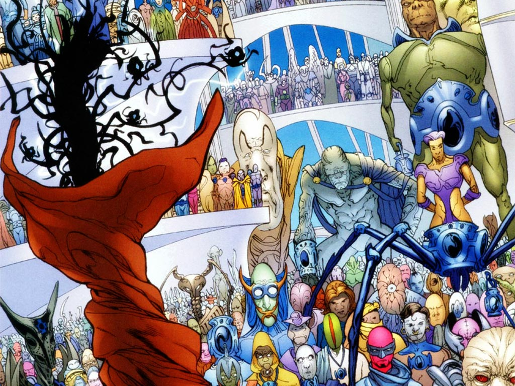 Comics Wallpaper: Planetary