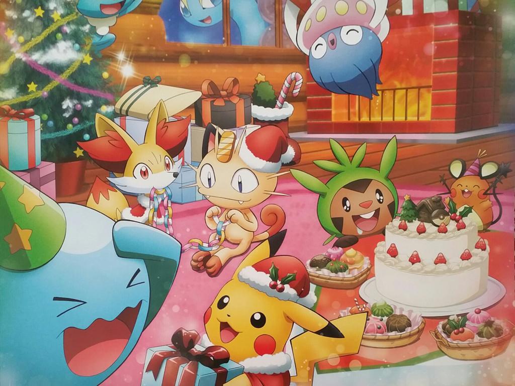 Comics Wallpaper: Pokemon - Christmas