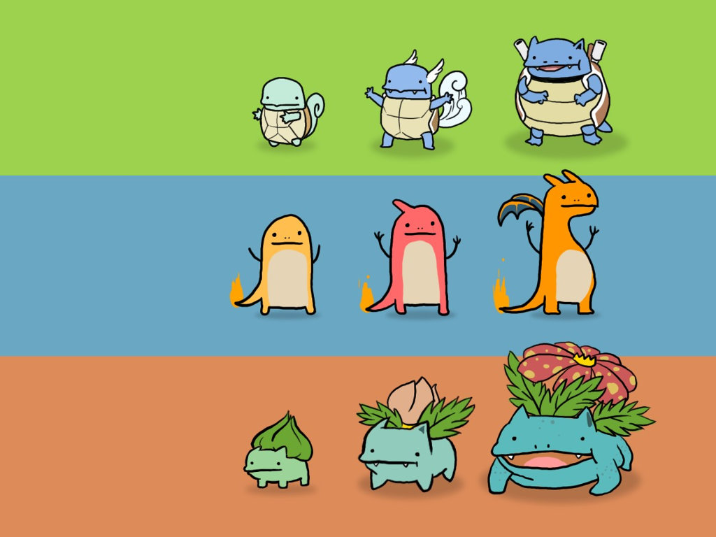 Comics Wallpaper: Pokemon - Evolution