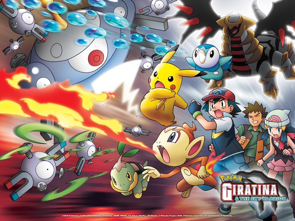 Comics Wallpaper: Pokemon - Giratina and the Sky Warrior