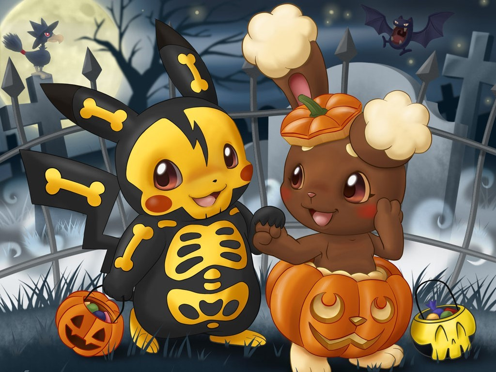 Comics Wallpaper: Pokemon - Halloween