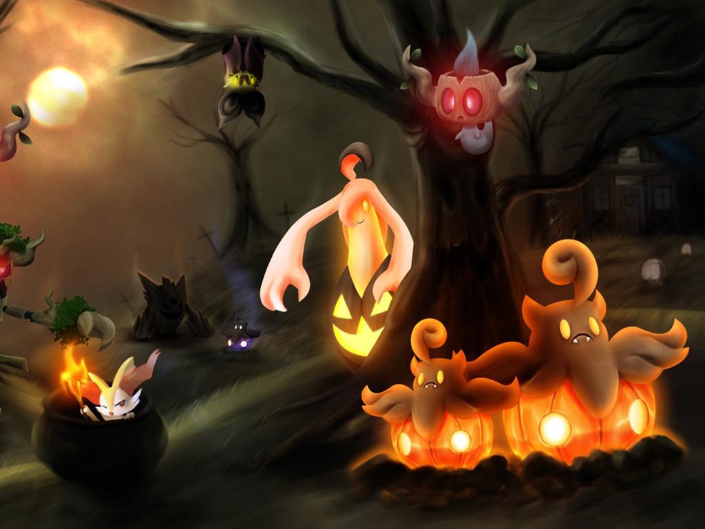 Comics Wallpaper: Pokemon - Halloween