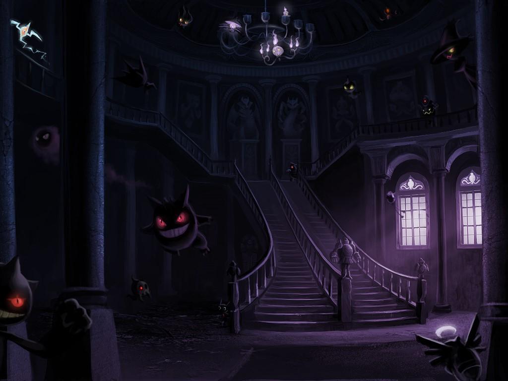 Comics Wallpaper: Pokemon - Haunted House