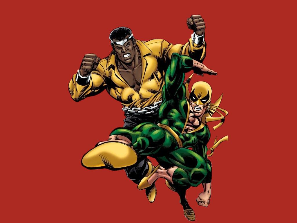 Comics Wallpaper: Power Man and Iron Fist