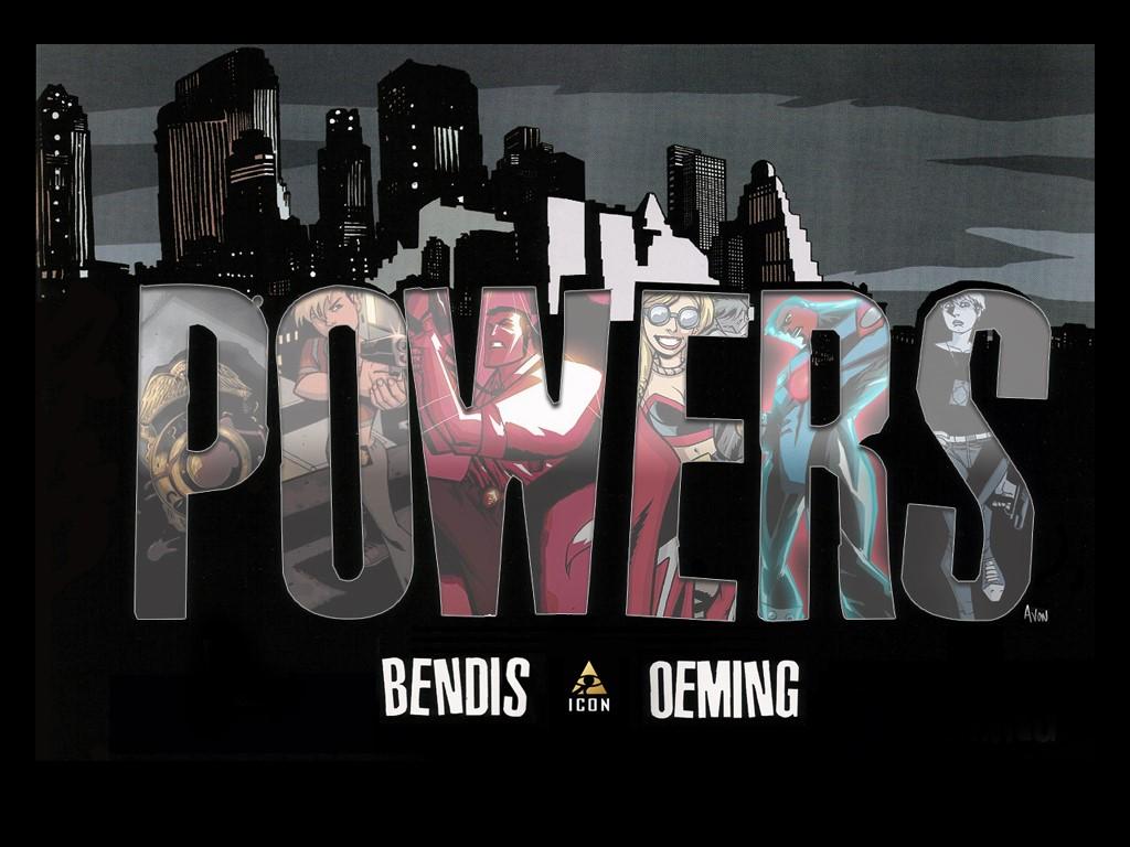 Comics Wallpaper: Powers