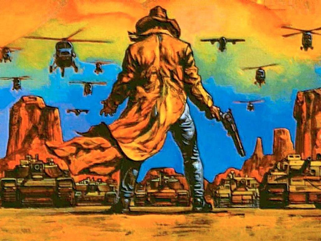 Comics Wallpaper: Preacher - Saint of Assassins