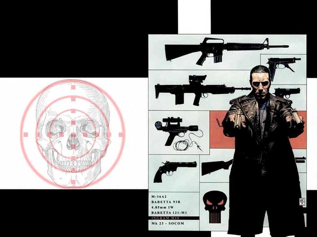 Comics Wallpaper: Punisher - Arsenal