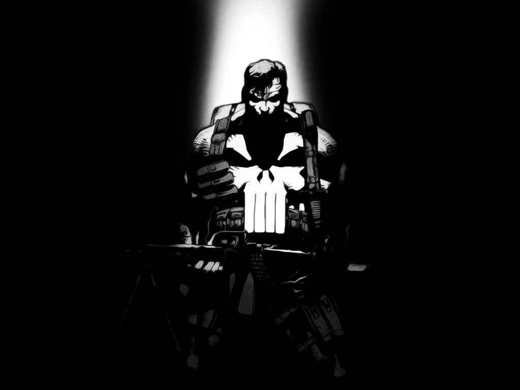 Comics Wallpaper: Punisher (by Jim Lee)