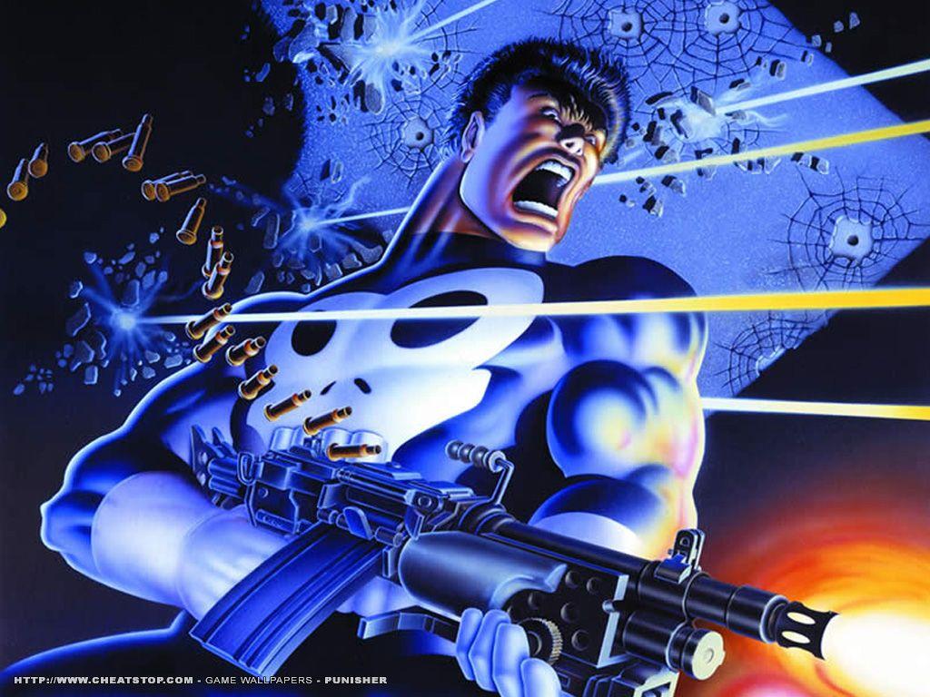 Comics Wallpaper: Punisher Gunfight