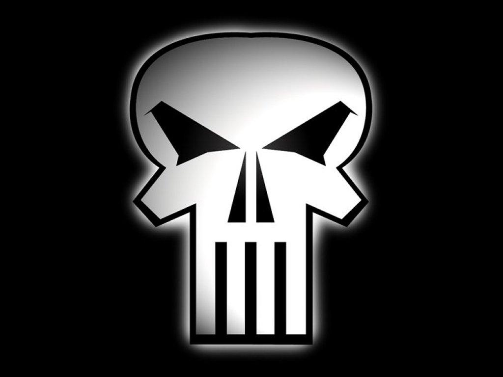 Comics Wallpaper: Punisher - Skull