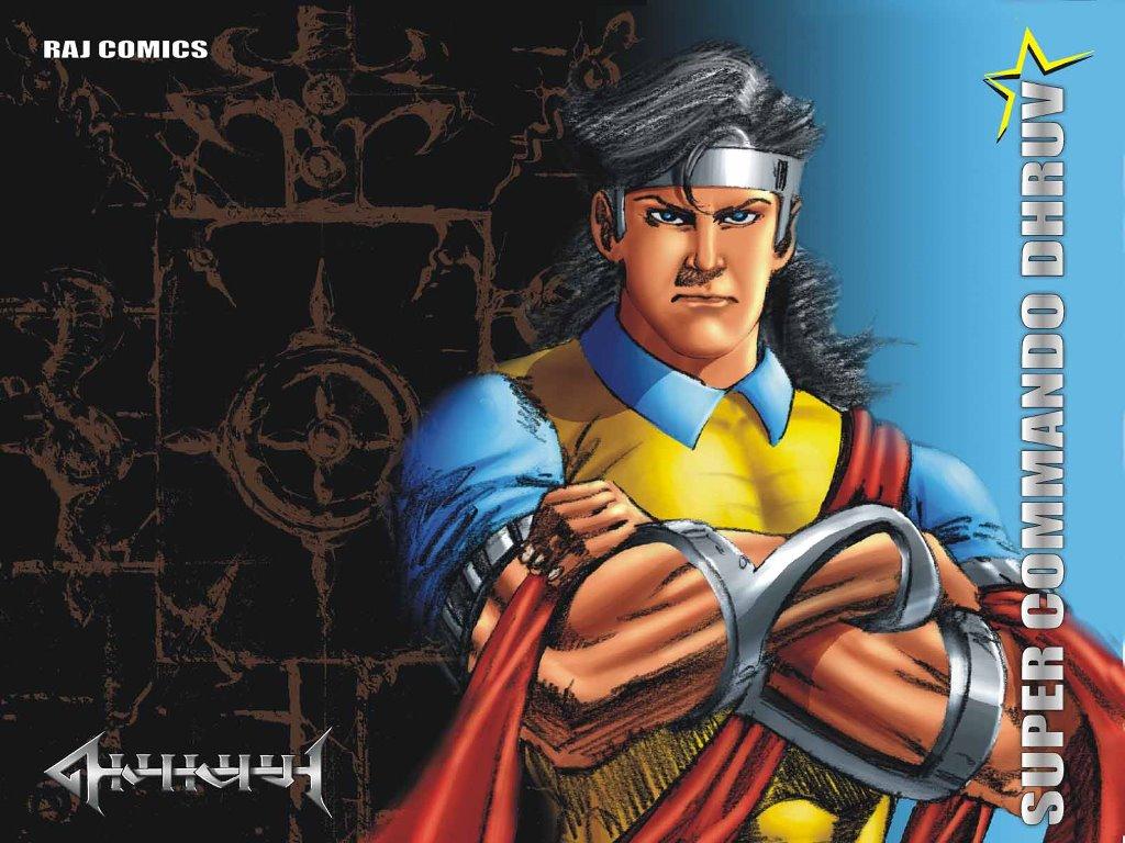 Comics Wallpaper: Raj Comics - Super Commando Dhruv