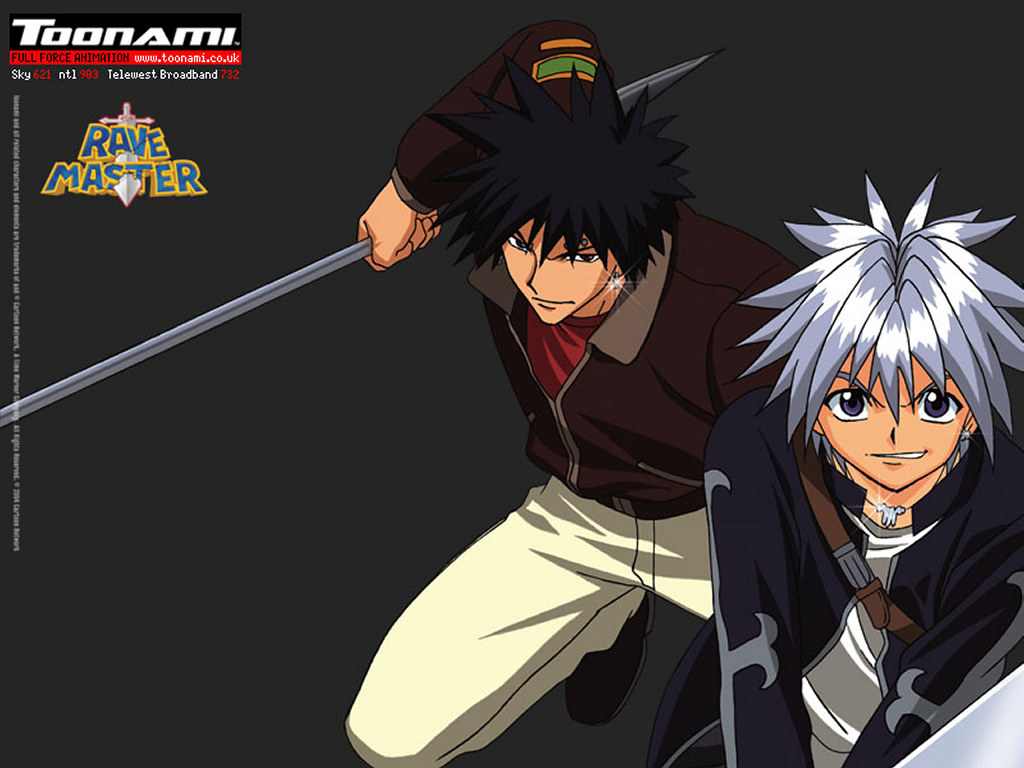 Comics Wallpaper: Rave Master