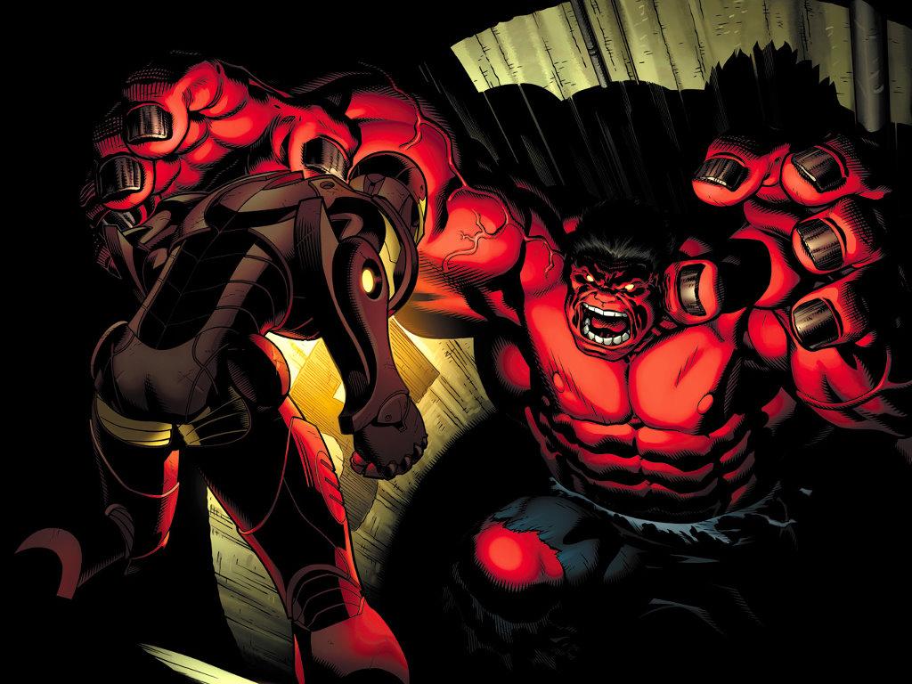 Comics Wallpaper: Red Hulk