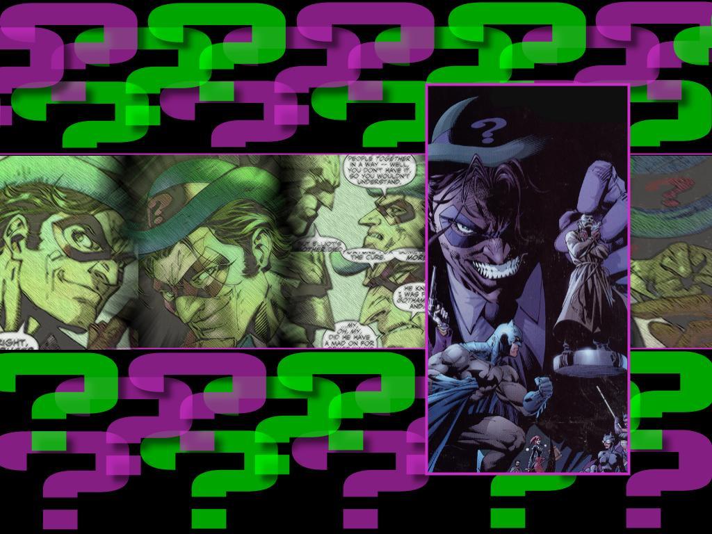 Comics Wallpaper: Riddler