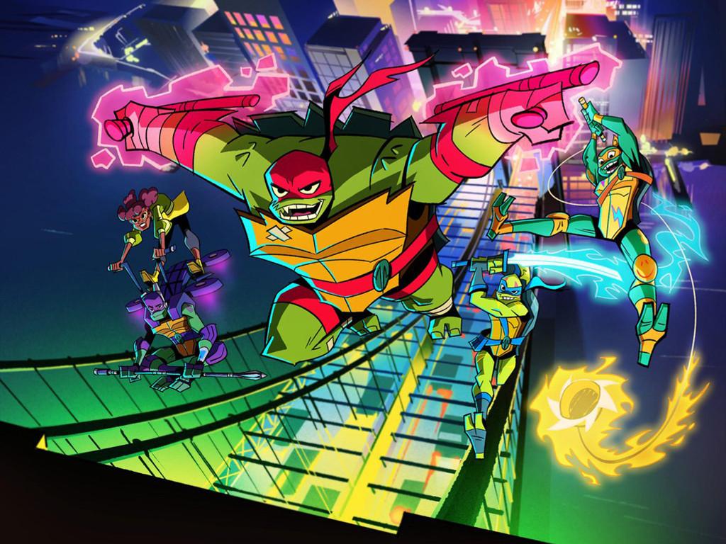 Papel de Parede Gratuito de Quadrinhos : Tartarugas Ninja