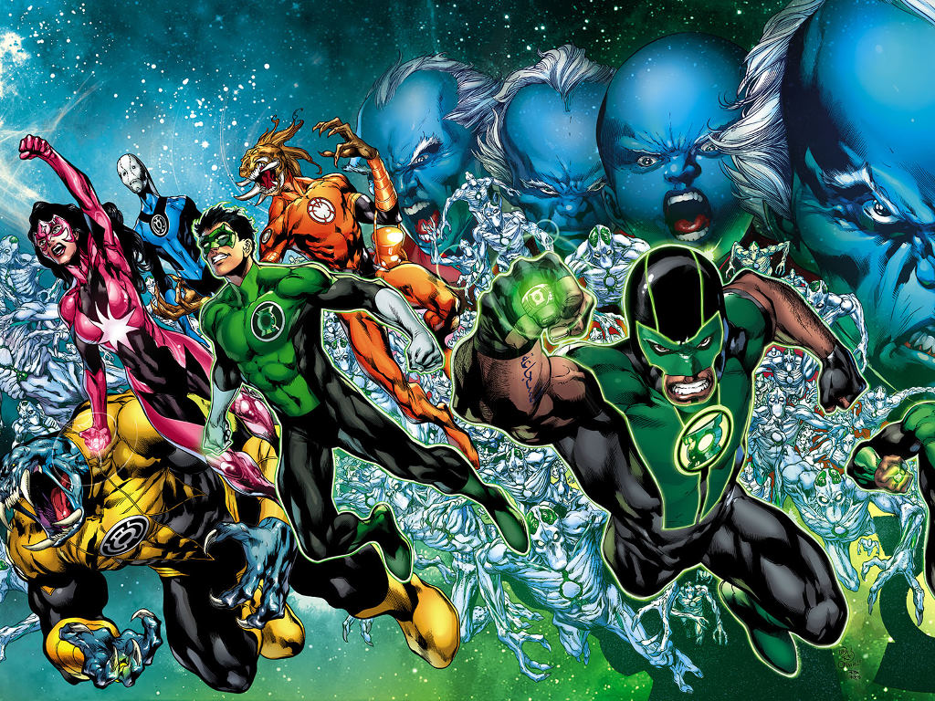 Comics Wallpaper: Green Lantern - Rise of the Third Army