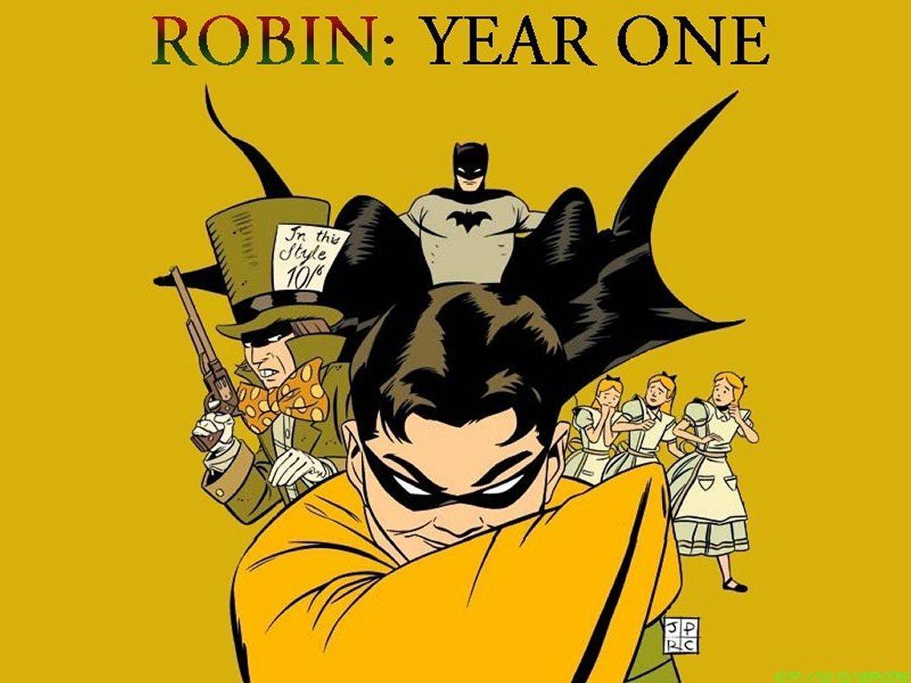 Comics Wallpaper: Robin Year One