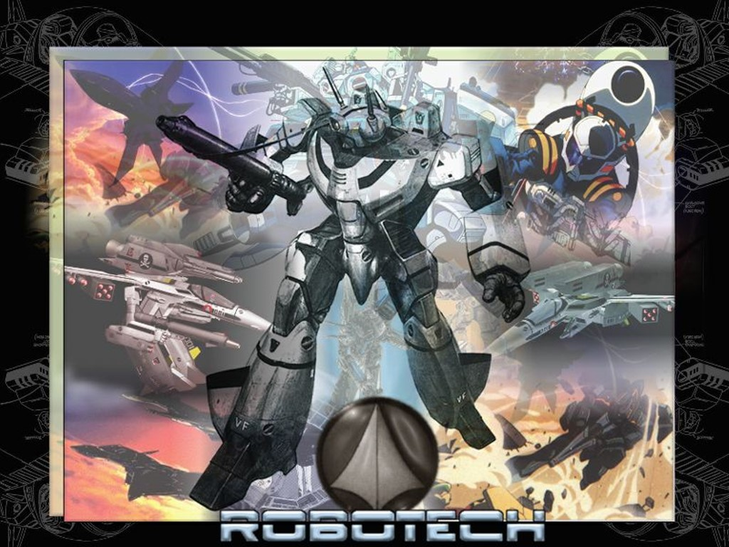 Comics Wallpaper: Robotech