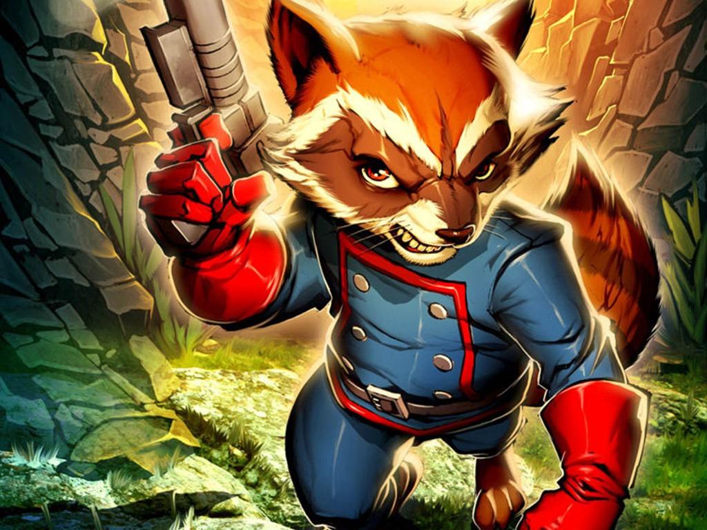 Comics Wallpaper: Rocket Raccoon