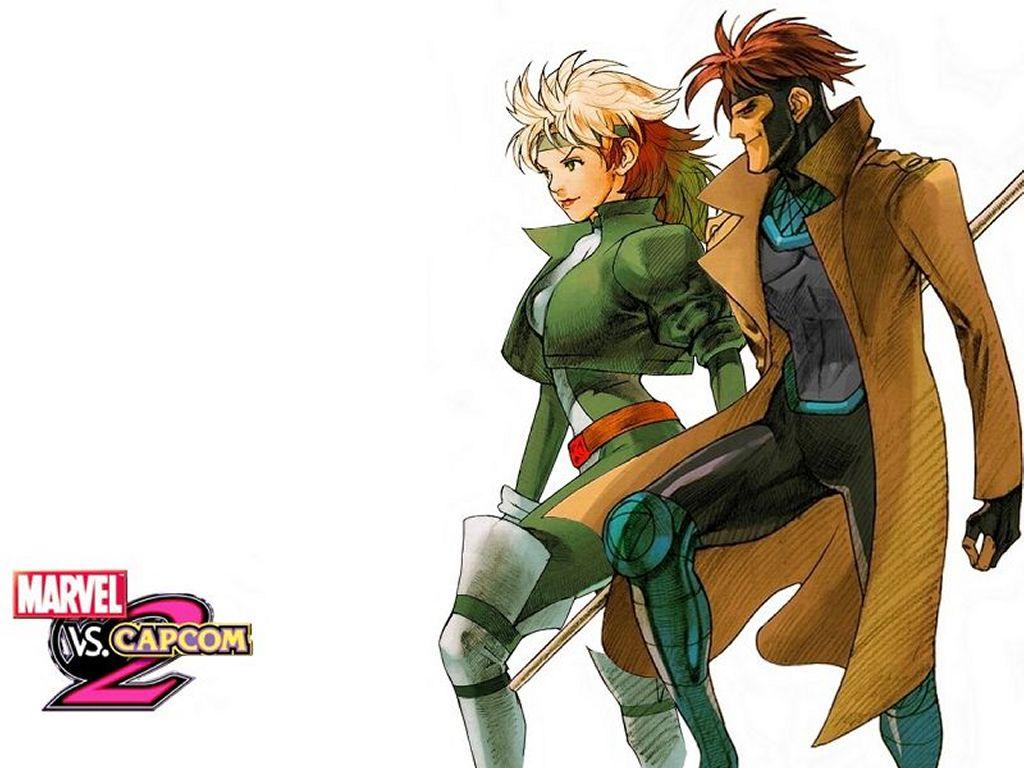 Comics Wallpaper: Rogue and Gambit