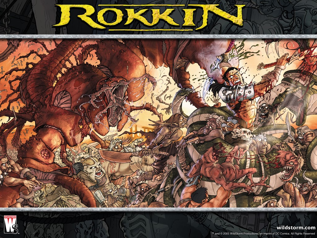 Comics Wallpaper: Rokkin