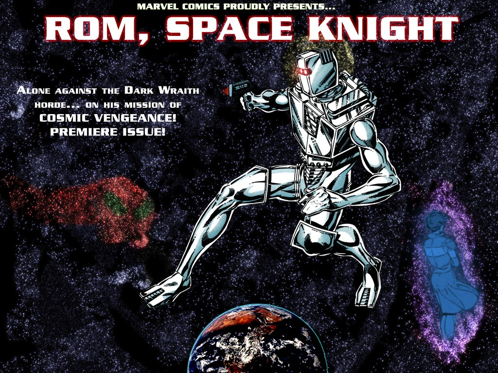 Comics Wallpaper: Rom - Spaceknight