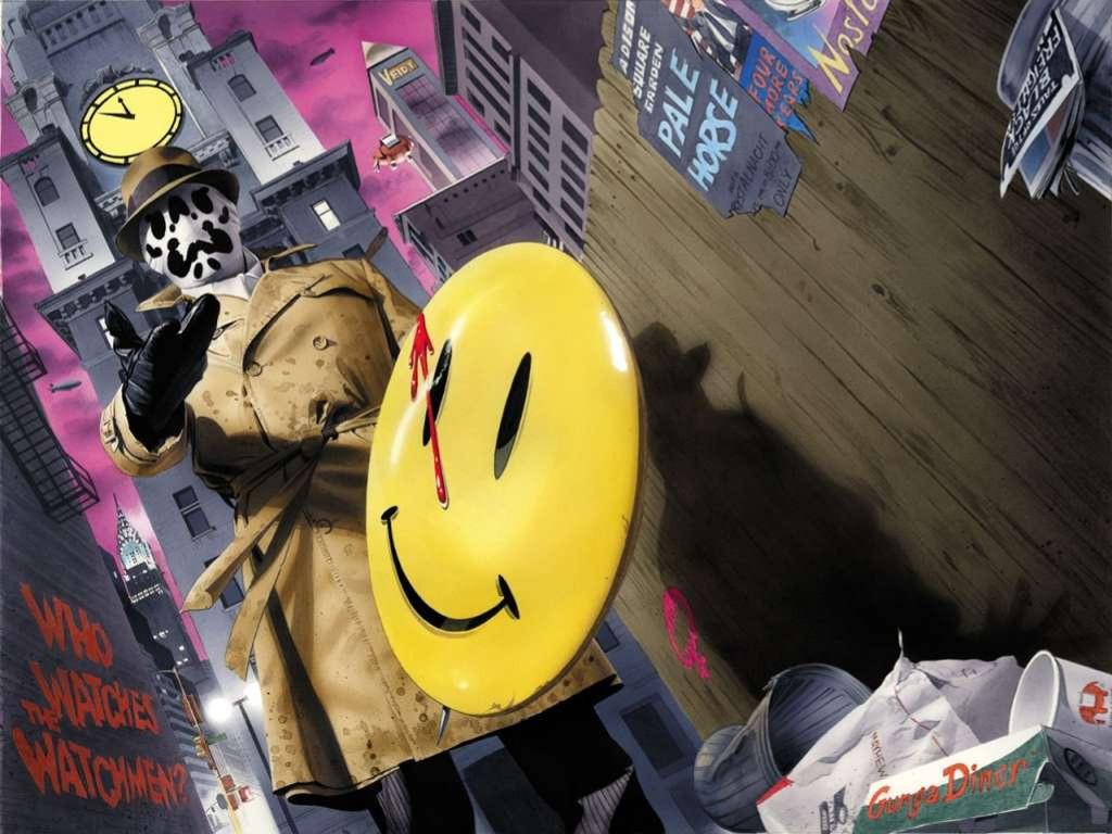 Comics Wallpaper: Rorschach
