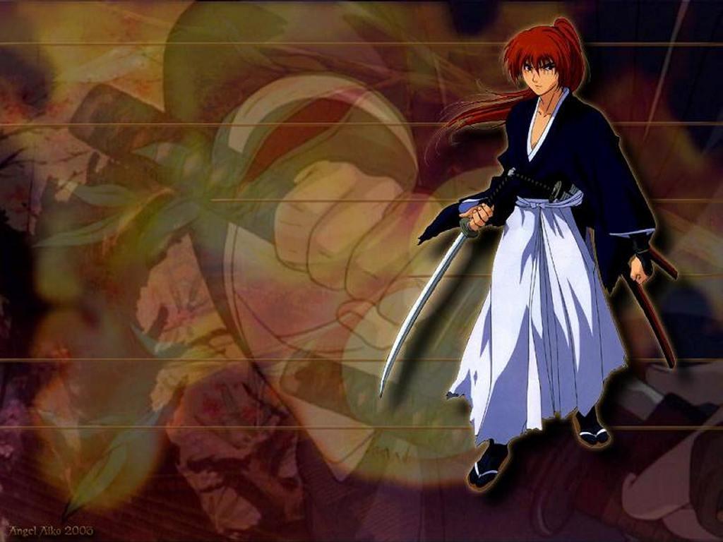 Comics Wallpaper: Rouroni Kenshin - Pomengranite