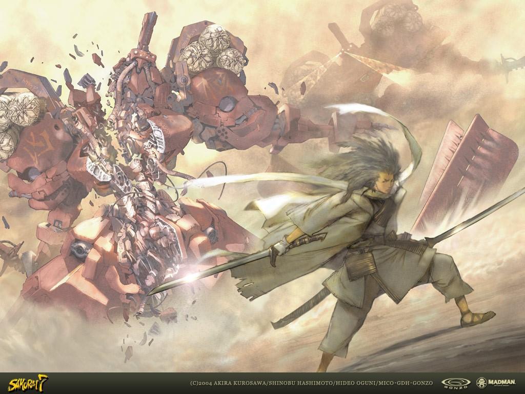 Comics Wallpaper: Samurai 7
