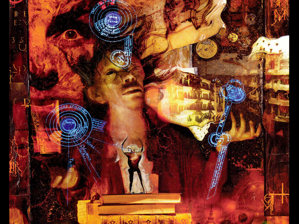 Comics Wallpaper: Sandman by Dave McKean