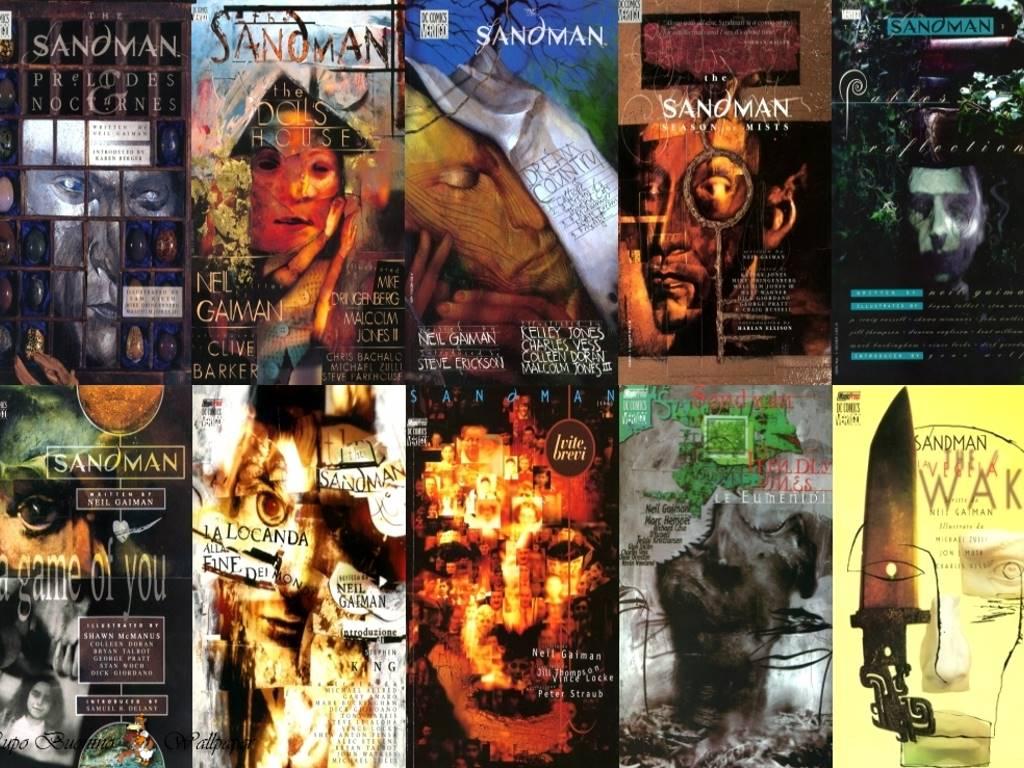 Comics Wallpaper: Sandman - Covers