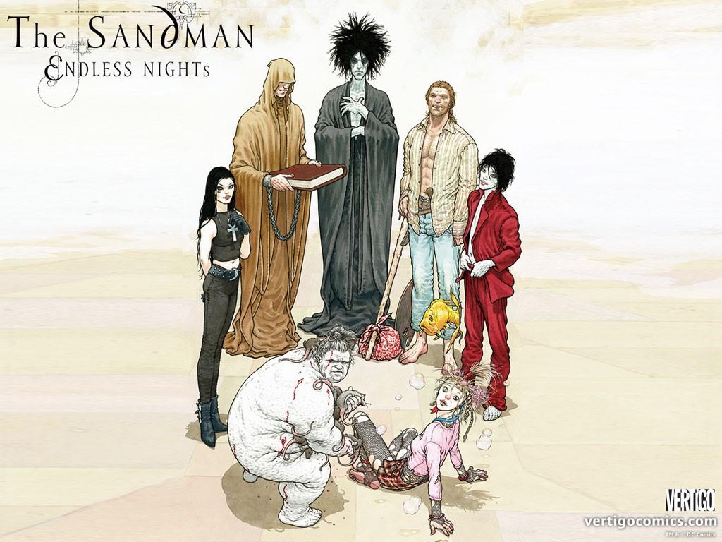 Comics Wallpaper: The Sandman - Endless Nights