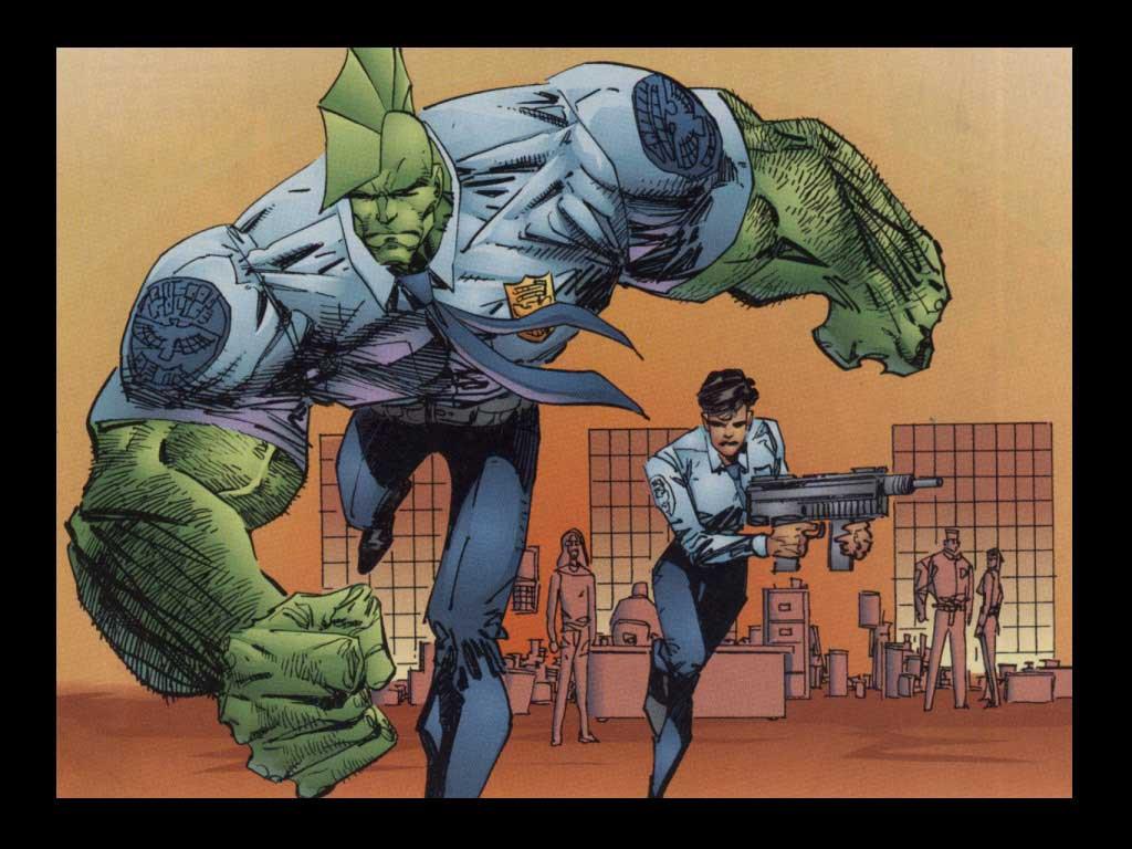 Comics Wallpaper: Savage Dragon