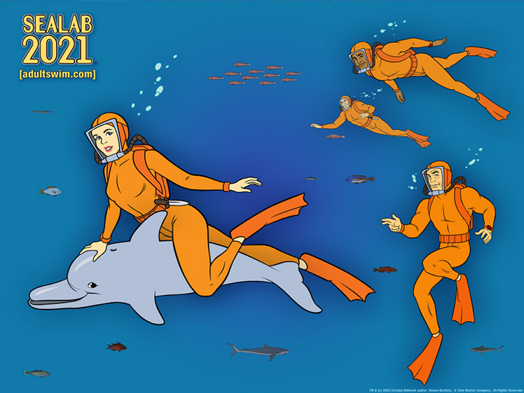 Comics Wallpaper: Sealab 2021