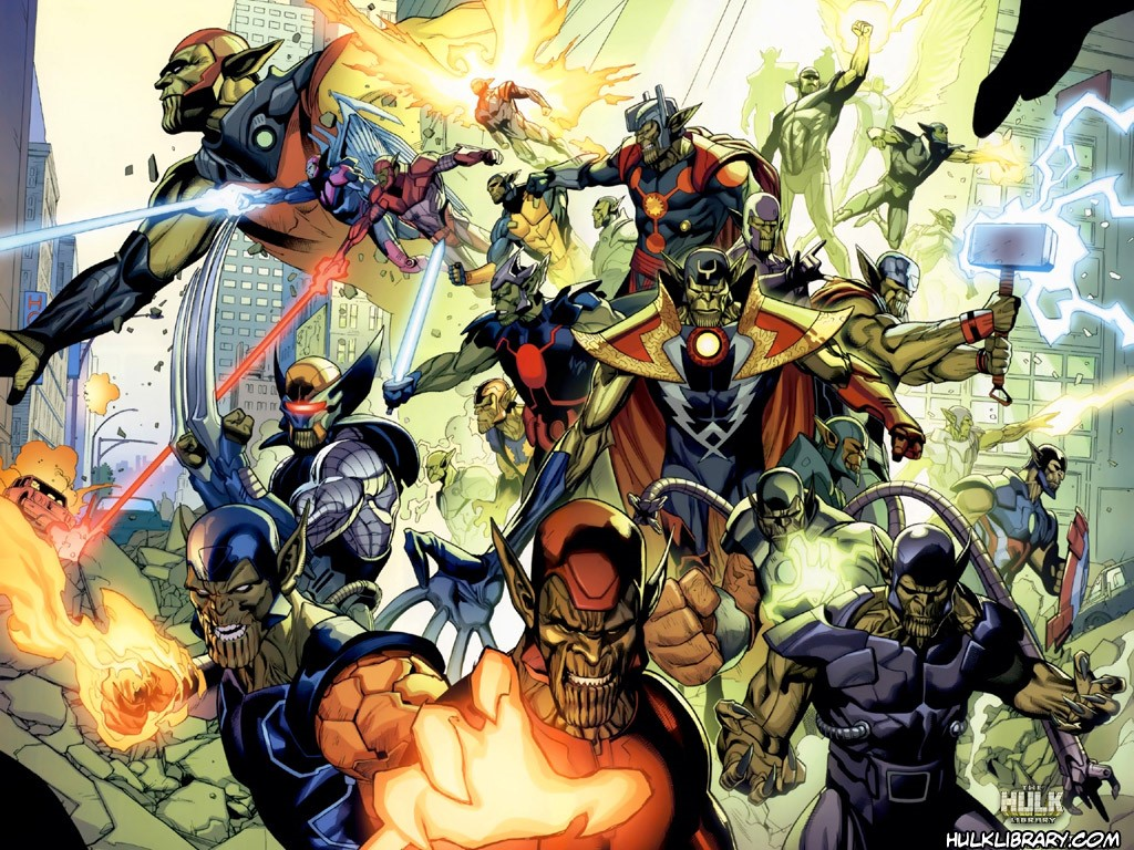Comics Wallpaper: Secret Invasion