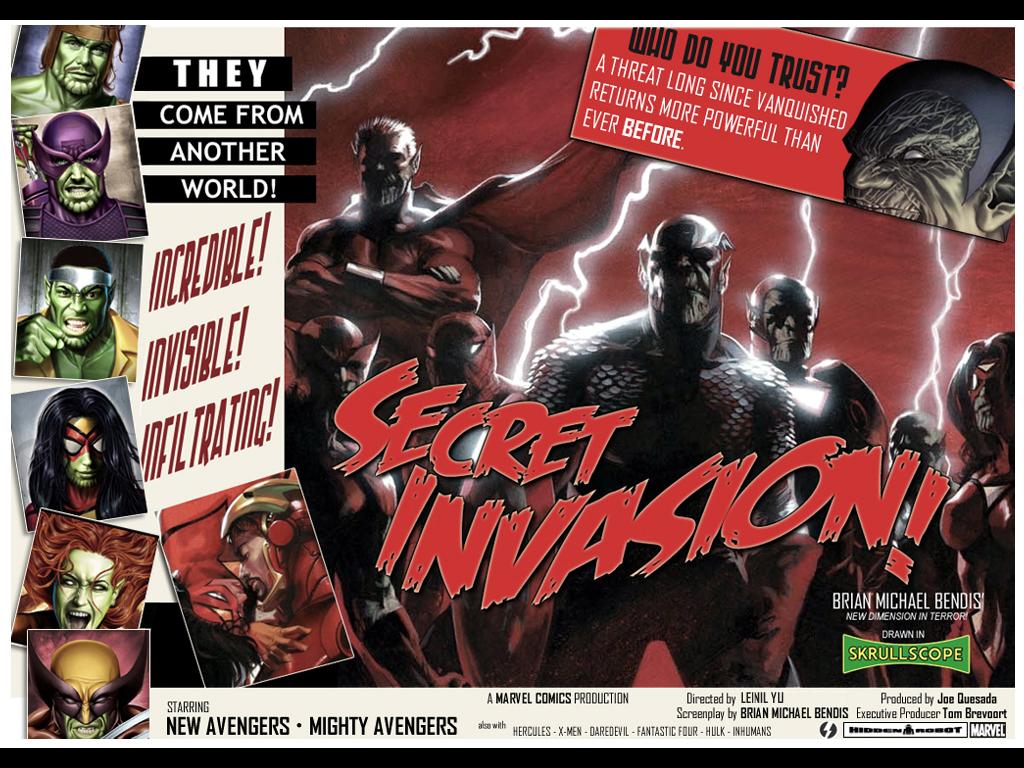 Comics Wallpaper: Secret Invasion