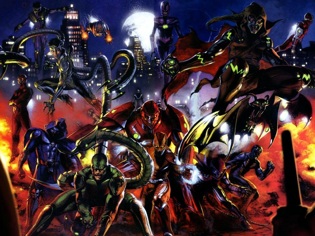 Comics Wallpaper: Secret War - Villains