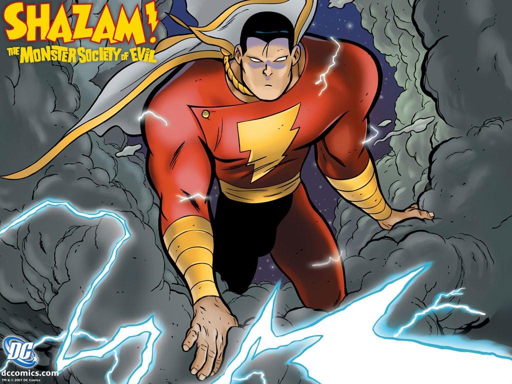 Comics Wallpaper: SHAZAM! - The Monster Society of Evil