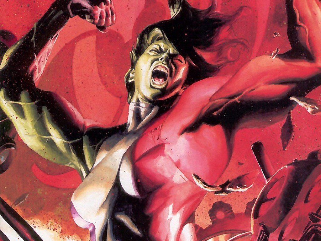 Comics Wallpaper: She-Hulk