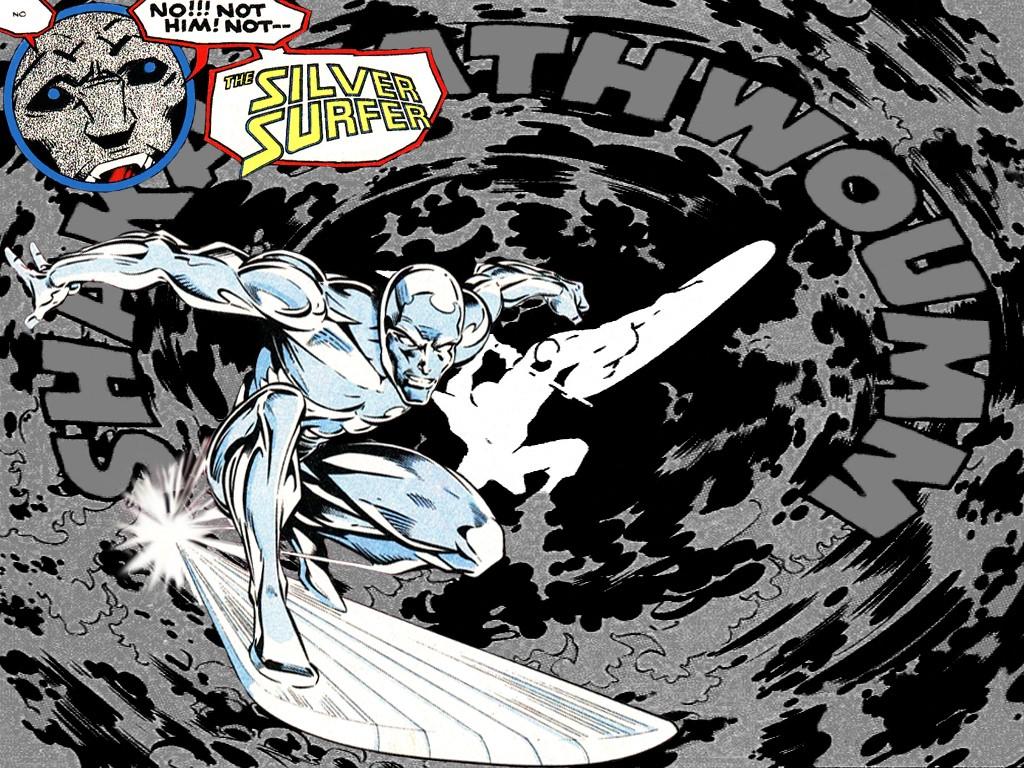 Comics Wallpaper: Silver Surfer