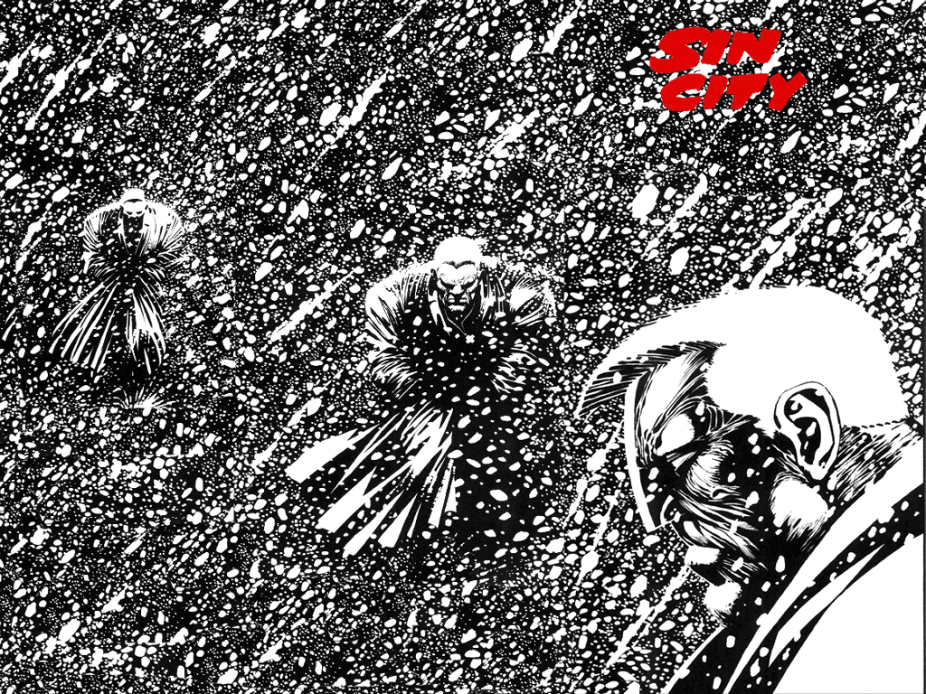 Comics Wallpaper: Sin City - Sad Marv