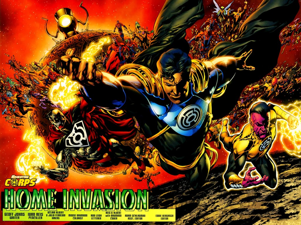 Comics Wallpaper: Sinestro Corps