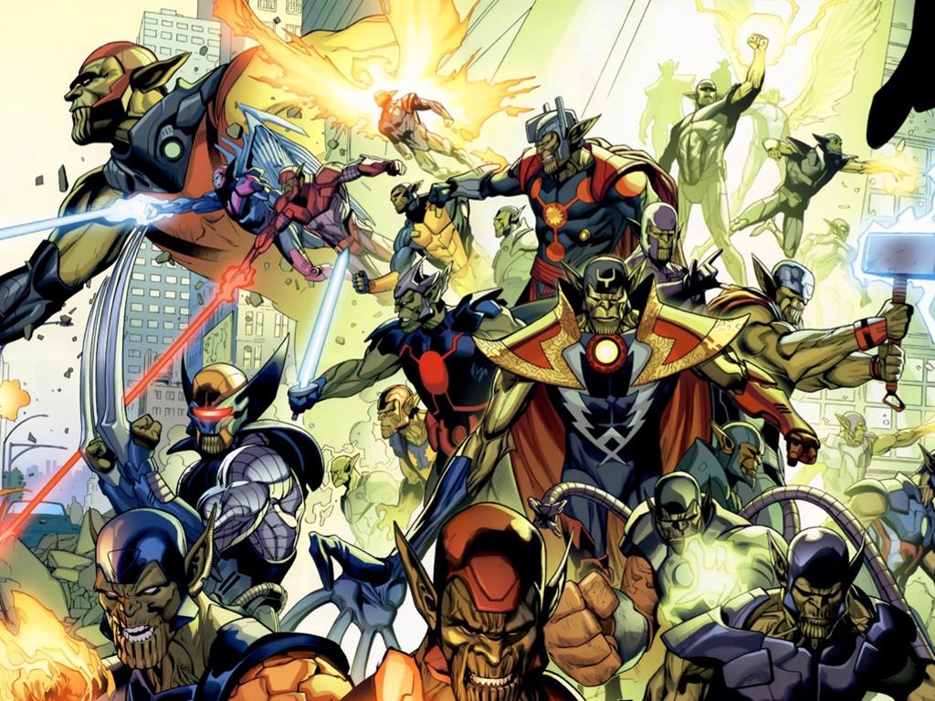 Comics Wallpaper: Skrulls