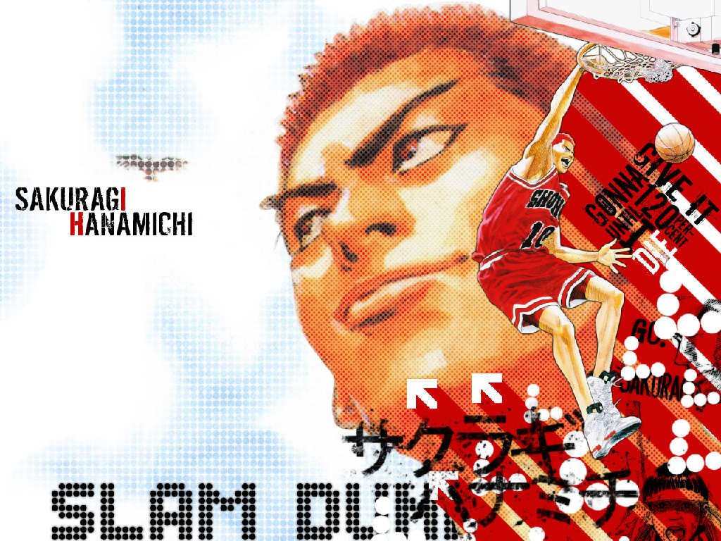 Comics Wallpaper: Slam Dunk - Sakuragi
